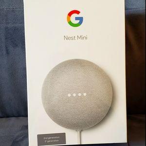 Brand New Google Nest Mini 2nd Generation
